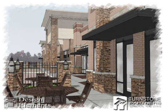 Commercial Real Estate Wilmington NC - New Centre Commons - Retail Development