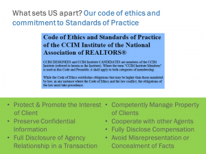 Commercial Real Estate Wilmington NC - Business Ethics