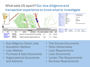 Commercial Real Estate Wilmington NC - Due Diligence Transaction Business
